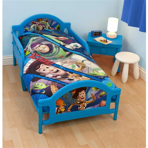 toy story bed toy story fractal panel junior toddler cot bed duvet