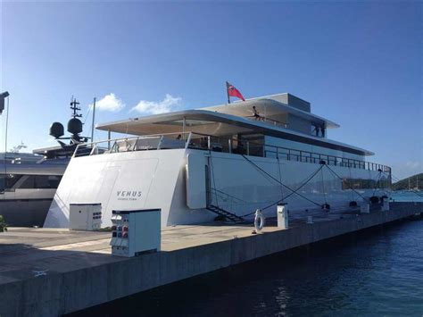 yacht venus apple founder s megayacht quot venus quot in st maarten