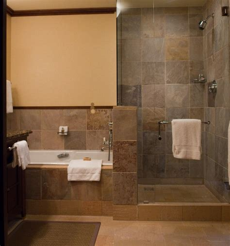 small bathroom designs with bath and shower stainless steel and brown tiles wall small bathroom walk