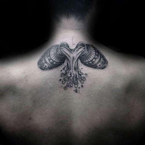 aquarius tattoos for men ideas and inspiration for guys