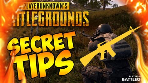 r pubg tips secret tips you didn t know about playerunknowns
