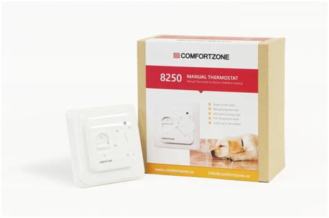 comfort zone thermostat comfortzone manual thermostat 8250 tiling store