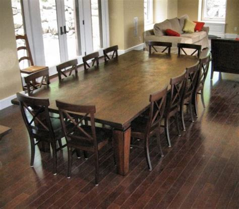 Dining Tables Seat 12 Home Design 85 Amazing 12 Seat Dining Tables