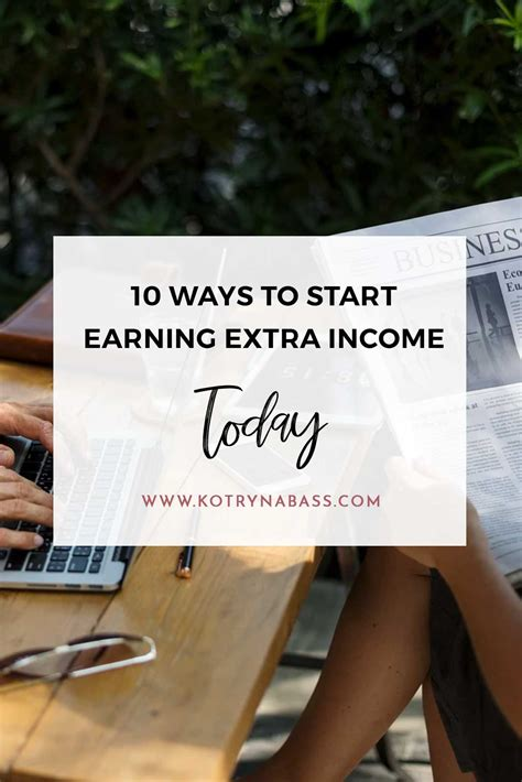 10 ways to start earning income today successful