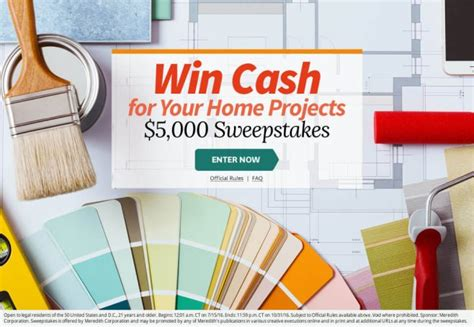 Bhg Sweepstakes Winners - can you get through these bhg sweepstakes without entering a single one