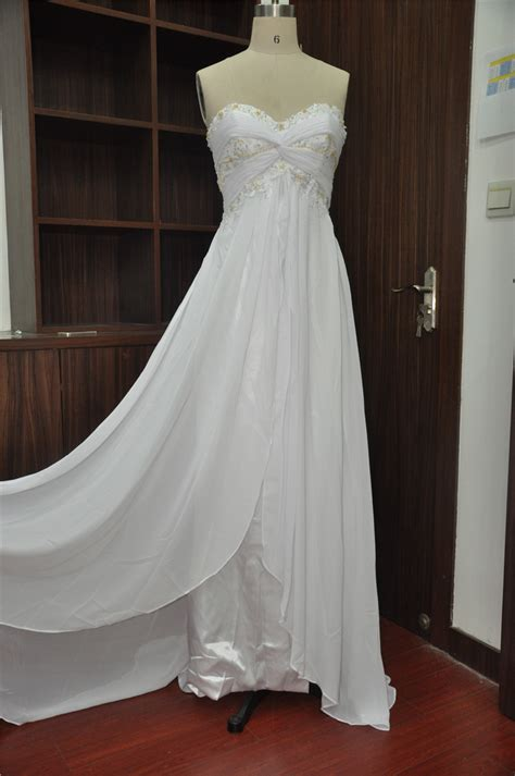 Wedding Dress Handmade - pretty simple custom wedding dress handmade gown