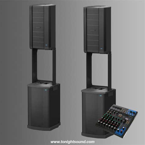 Sono Bose by Location Bose F1 Pack Sonorisation Dj 4000w Tonightsound