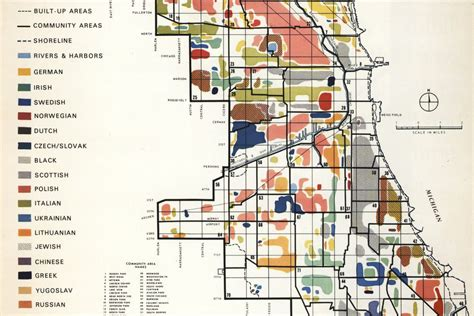 chicago ethnicity map mapping chicago s diverse ethnic communities in 1950