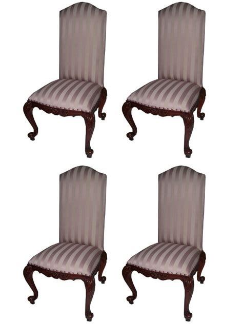 Chaise Style Anglais by 4 Chaises Style Anglais Victorien En Acajou Meuble De Style