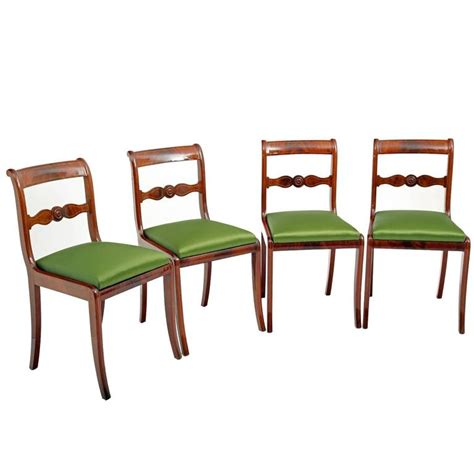 Dining Room Furniture Germany Dining Chairs Central Germany Circa 1830 For Sale At