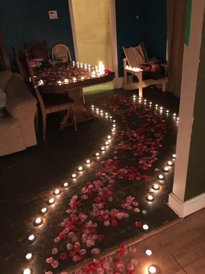 decorate bedroom  romantic night romantic