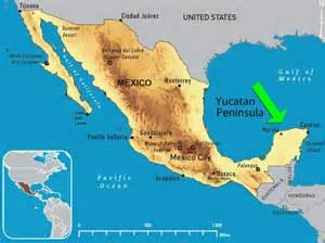 map of mexico yucatan region pen 237 nsula de yucat 225 n m 233 xico infoescola