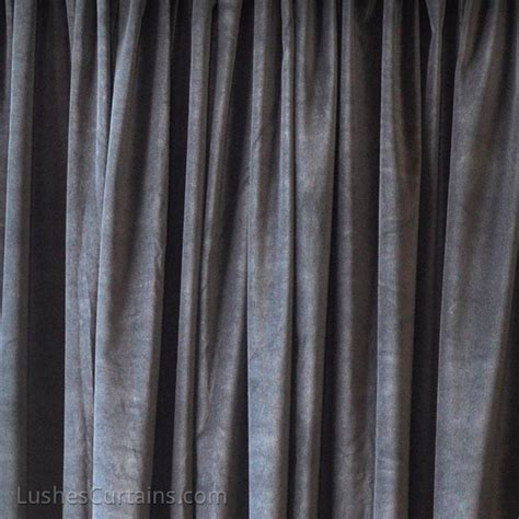 thermal velvet curtains black theater noise sound absorbing drapery thermal velvet