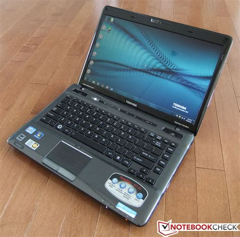 review toshiba satellite p  laptop notebookcheck