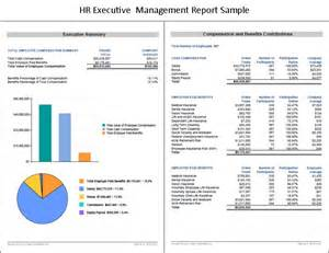 hr management report template compensation management compensation management hr project