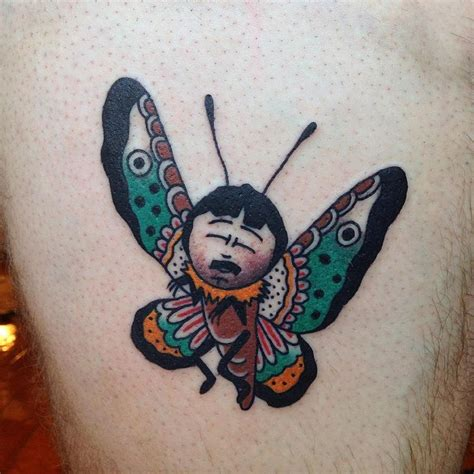south park tattoo designs always happy to do another randy butterfly from my south