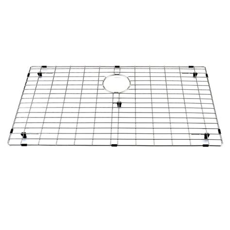 kitchen sink grid vigo 30 75 in x 17 75 in kitchen sink bottom grid