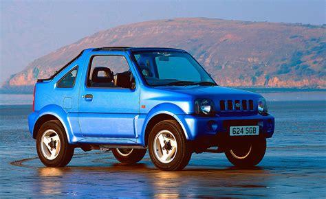 suzuki jimny soft top review 2000 2005 parkers
