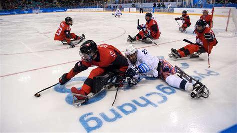 para olympic score board canada scores best para hockey finish since 2006 bringing