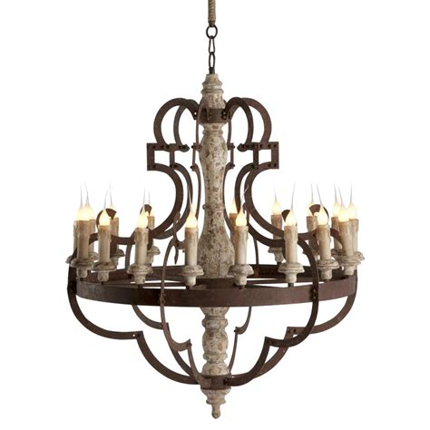 Rustic Chandelier Lighting by Nurnberg Large Rustic Iron 18 Light Chandelier Kathy Kuo