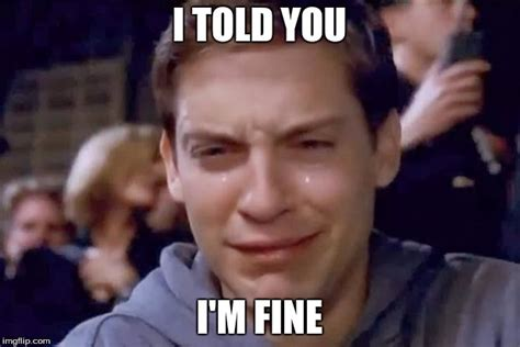 Cry Memes - tobey maguire crying imgflip