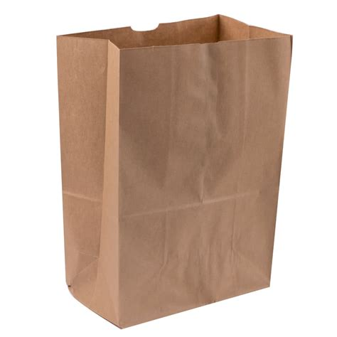 Paper Bags From Newspaper - duro 1 6 brown paper barrel sack 500 bundle