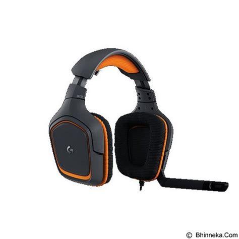 Jual Logitech G231 Prodigy Gaming Headset Garansi Resmi Logitech Ind jual gaming headset logitech g231 prodigy gaming headset