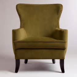 Wingback Accent Chair Caper Elliott Wingback Chair Contemporary Armchairs And Accent Chairs By Cost Plus World