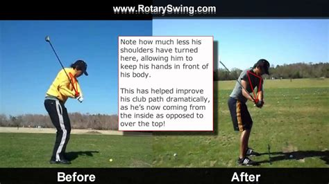 how to stop coming over the top in golf swing stop coming over the top in the golf swing with