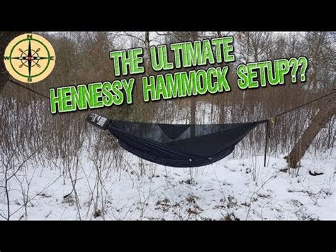 Hennessy Hammock Modifications by The Ultimate Hennessy Hammock Setup