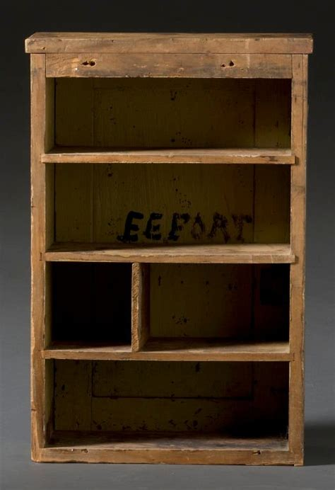 primitive painted hanging cupboard for sale at 1stdibs