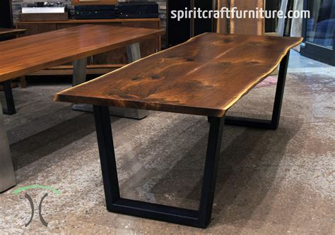 Live Edge Walnut Dining Table Live Edge Slab Dining Tables Walnut Slabs And Tops