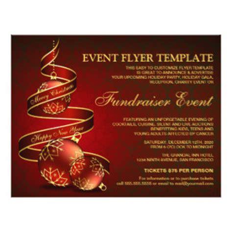 fundraiser flyers programs zazzle