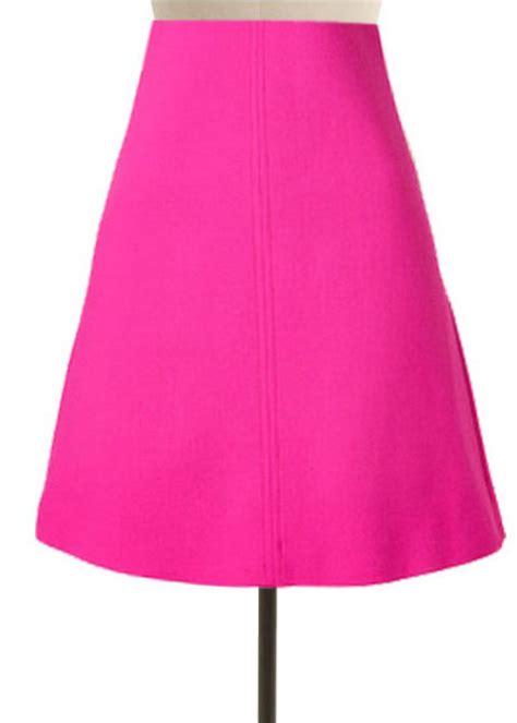 pink a line skirt elizabeth s custom skirts