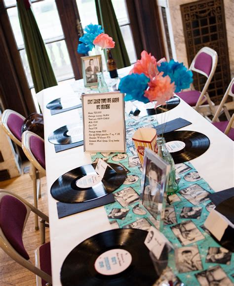 50 s table decorations best 25 1950s ideas on retro themes grease themes and 50s