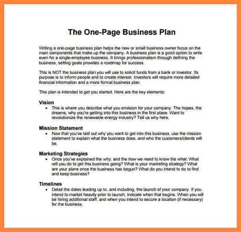 3 Exle Of A Business Plan Pdf Bussines Proposal 2017 How To Write A Business Plan Template Pdf