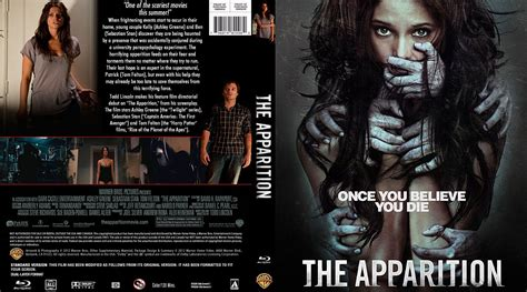 the appartion the apparition movie blu ray custom covers the