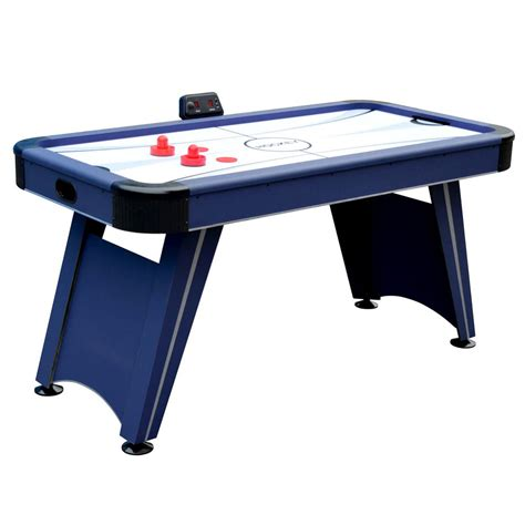 hathaway air hockey table hathaway voyager 5 ft air hockey table bg1014h the home