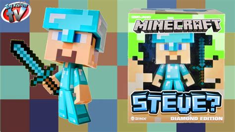 big w figures minecraft steve edition large vinyl figure