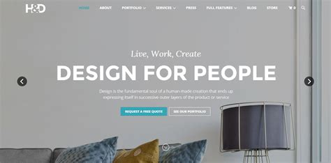 wordpress themes interior design 12 best interior design architecture themes for wordpress