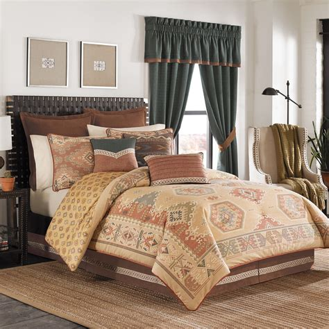 croscill plateau king comforter set mountain top furniture