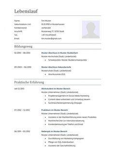 Lebenslauf Vorlage Careesma 1000 Ideas About Bewerbungsvorlagen Muster On