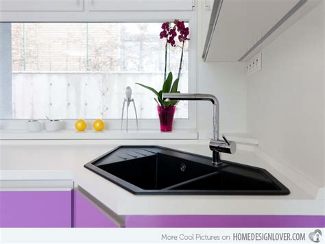 designer kitchen sinks 15 cool corner kitchen sink designs home design lover
