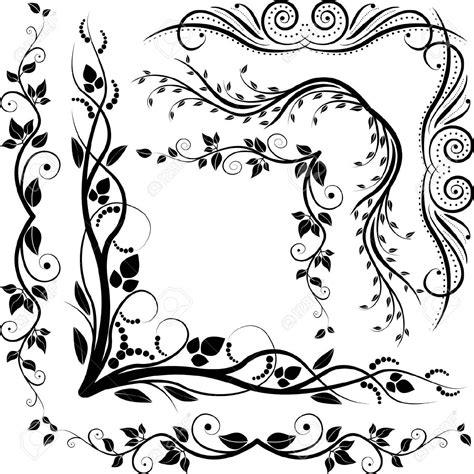 disegni clipart decorative corners clipart 74