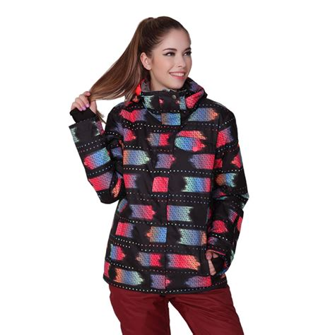 black and white patterned ski jacket popular patterned ski jackets buy cheap patterned ski