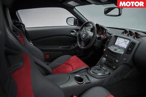nissan 370z interior 2018 nissan 370z nismo to launch in australia motor
