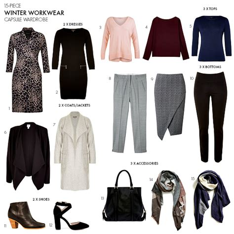 Workwear Wardrobe by How To Create A Winter Workwear Capsule Wardrobe
