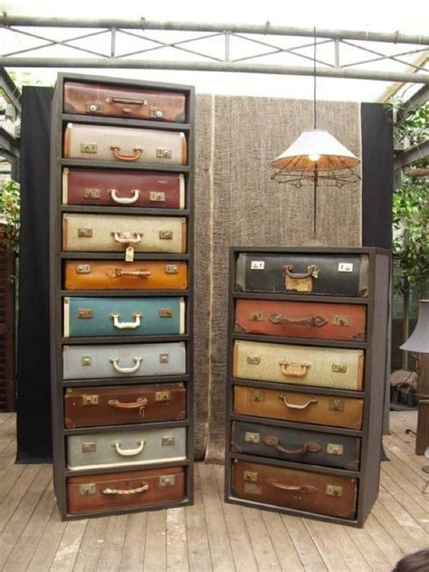 suitcase dresser vintage suitcase drawer dresser interior design pinterest