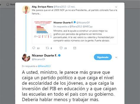 sobre el aumento salarial en bolivia nicanor y riera discuten en twitter por aumento a docentes