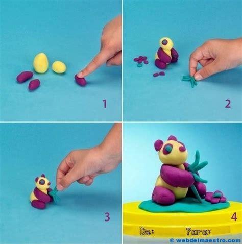 Mainan Lilin Doh Zoo Doh figuras en plastilina paso a paso imagui